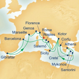 Mediterranean Collection Princess Cruises Cruise