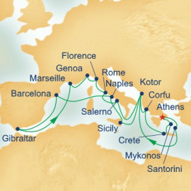 Mediterranean Collection Itinerary