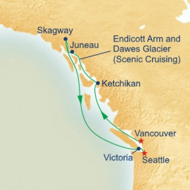 Inside Passage Princess Cruises Cruise