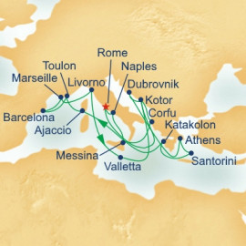 Grand Mediterranean Collection Itinerary