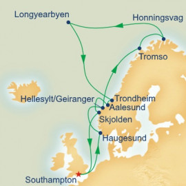 Summer Solstice and Spitzbergen Princess Cruises Cruise