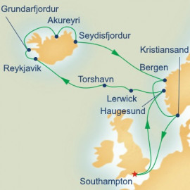 Iceland Norway and Northern Isles Princess Cruises Cruise