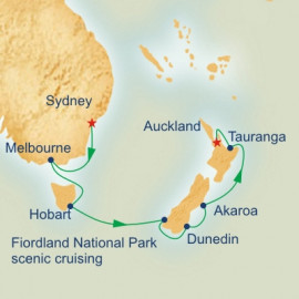 Australia and New Zealand Princess Cruises Cruise