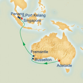 Southern Australia and Asia Princess Cruises Cruise