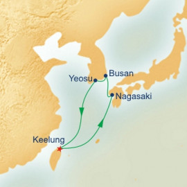 Japan and South Korea Princess Cruises Cruise