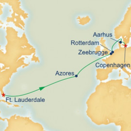Northern Europe Passage Itinerary
