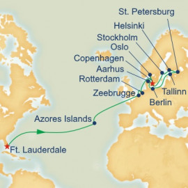 Scandinavia and Russia Grand Adventure Itinerary