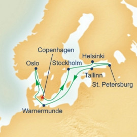 Scandinavia and Russia Princess Cruises Cruise