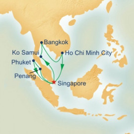 Malaysia and Thailand and Vietnam Princess Cruises Cruise