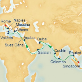 Mediterranean and Southeast Asia Princess Cruises Cruise