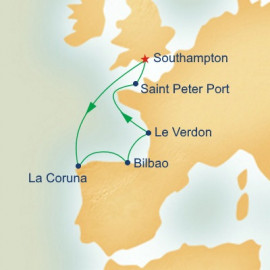 Spain and France Princess Cruises Cruise