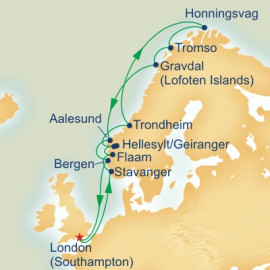 Land Of The Midnight Sun Itinerary