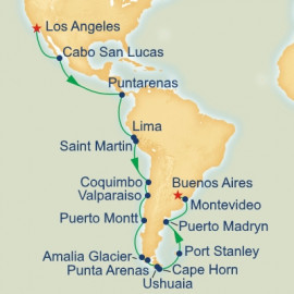 Grand South America Itinerary