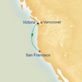 Vancouver to San Francisco Princess Cruises Cruise