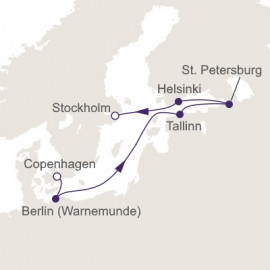 Baltic Rhapsody Itinerary
