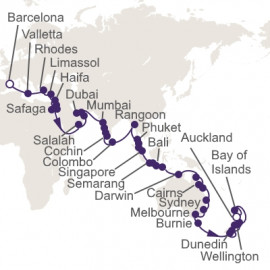 Grand Spice Route Quest Itinerary