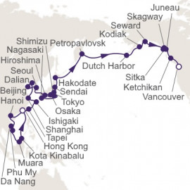 Grand Asia Exploration Itinerary