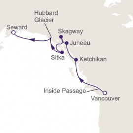 Inside Passage Exploration Itinerary