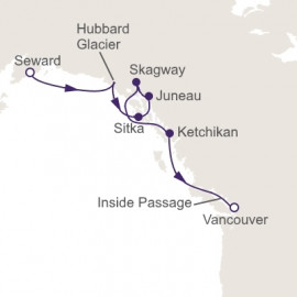 Inside Passage Immersion Regent Seven Seas Cruises Cruise