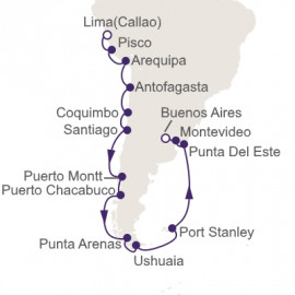Journey To Tierra Del Fuego Itinerary