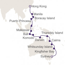 Great Barrier Reef and Coral Sea Itinerary