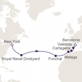 Perfection Across The Atlantic Itinerary