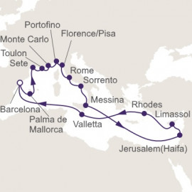 Iberia and the Mediterranean Itinerary