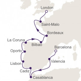 Iberian Peaks and Coasts Regent Seven Seas Cruises Cruise