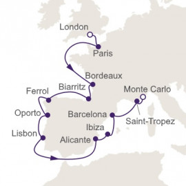 Europe Beyond Measure Itinerary