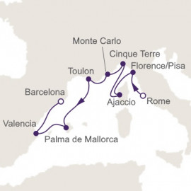 Lovely Mediterranean Itinerary