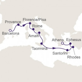 Journey to The Aegean Itinerary