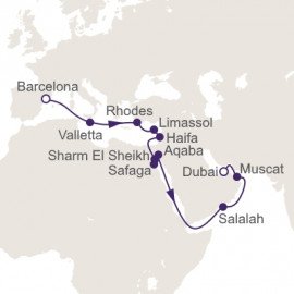 Sailing The Suez  Regent Seven Seas Cruises Cruise