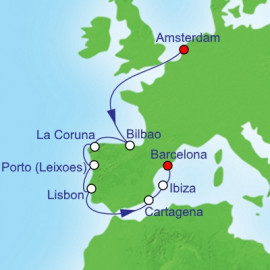 Iberian Peninsula Royal Caribbean Cruise
