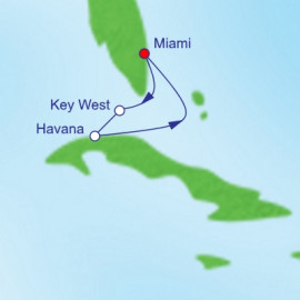 Key West and Havana Itinerary