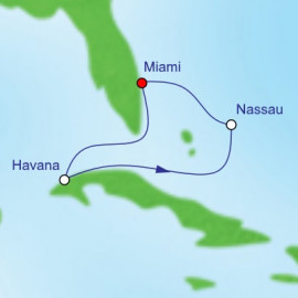 Havana and Nassau Itinerary