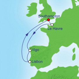 France and Spain and Portugal Royal Caribbean Cruise