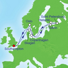 Scandanavia and Russia Royal Caribbean Cruise