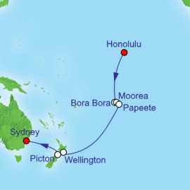 Transpacific Royal Caribbean Cruise