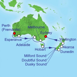 Australia Bottom End Royal Caribbean Cruise