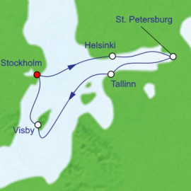 Scandinavia And Russia Royal Caribbean Cruise
