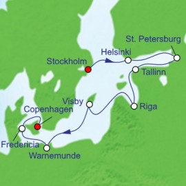 Ultimate Scandinavia And Russia Itinerary