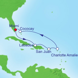Eastern Caribbean and Perfect Day Royal Caribbean Cruise