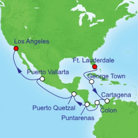 Panama Canal Westbound Royal Caribbean Cruise