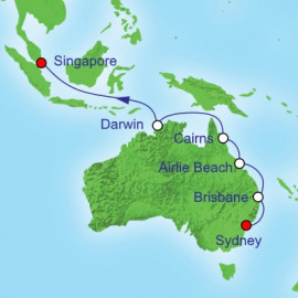 Sydney to Singapore Royal Caribbean Cruise