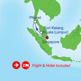 Fly Cruise Holiday Southeast Asia Itinerary