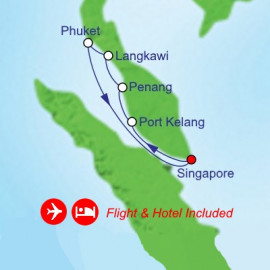 Fly Cruise Holiday Explore Southeast Asia Itinerary