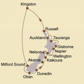 New Zealand Seabourn Cruise