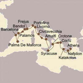 Heart of The Mediterranean Itinerary