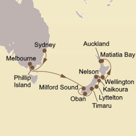 Australia and New Zealand Seabourn Cruise
