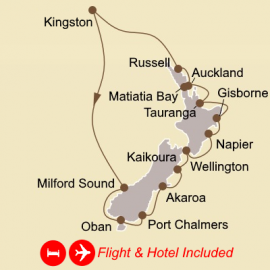 Fly Hotel Cruise Holiday Discover the Pacific